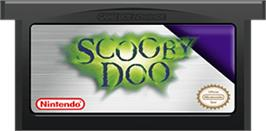 Cartridge artwork for Scooby Doo: The Motion Picture on the Nintendo Game Boy Advance.