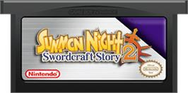 Cartridge artwork for Summon Night: Swordcraft Story 2 on the Nintendo Game Boy Advance.