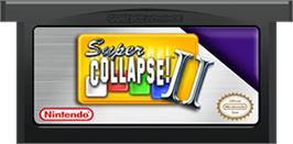 Cartridge artwork for Super Collapse! 2 on the Nintendo Game Boy Advance.