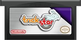 Cartridge artwork for Trick Star on the Nintendo Game Boy Advance.