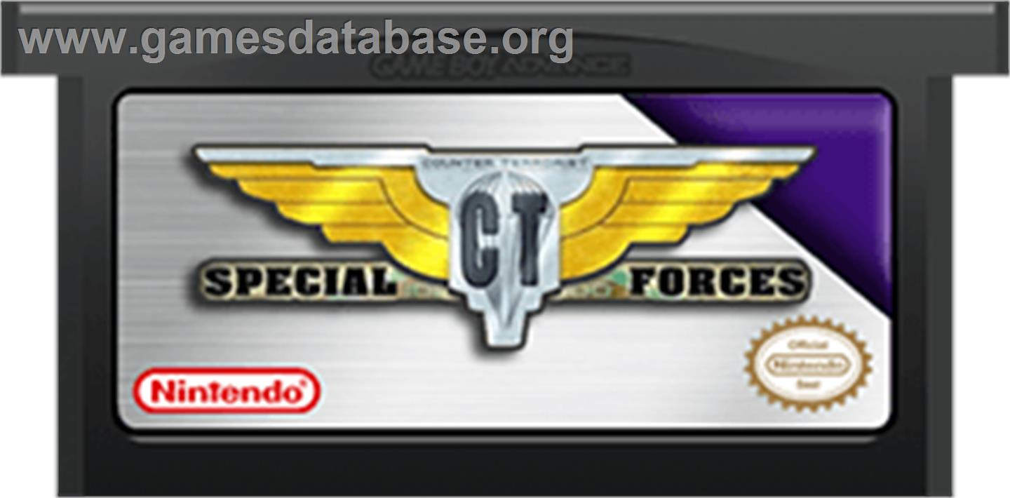 CT Special Forces - Nintendo Game Boy Advance - Artwork - Cartridge