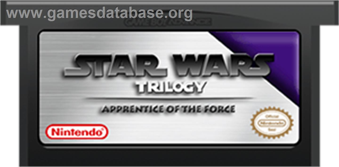 Star Wars Trilogy: Apprentice of the Force - Nintendo Game Boy Advance - Artwork - Cartridge