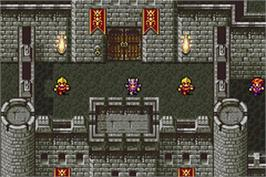 In game image of Final Fantasy 2 on the Nintendo Game Boy Advance.
