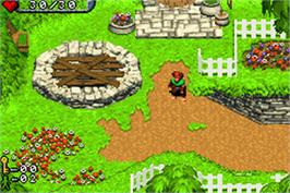 In game image of Hobbit on the Nintendo Game Boy Advance.