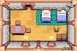 In game image of Legend of Zelda: The Minish Cap on the Nintendo Game Boy Advance.