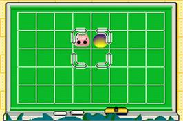 In game image of Nonono Puzzle Chairian on the Nintendo Game Boy Advance.