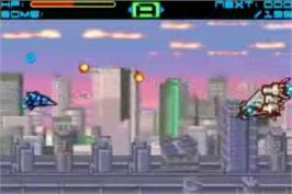 In game image of Sigma Star Saga on the Nintendo Game Boy Advance.