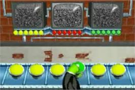 In game image of Spy Muppets: License To Croak on the Nintendo Game Boy Advance.