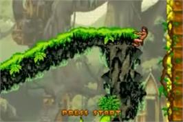 In game image of Tarzan: Return to the Jungle on the Nintendo Game Boy Advance.