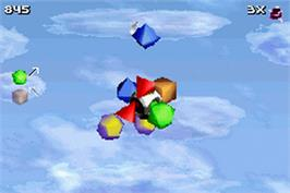 In game image of ZooCube on the Nintendo Game Boy Advance.