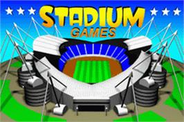 Title screen of Stadium Games on the Nintendo Game Boy Advance.