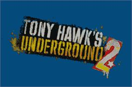 Title screen of Tony Hawk's Underground 2 on the Nintendo Game Boy Advance.