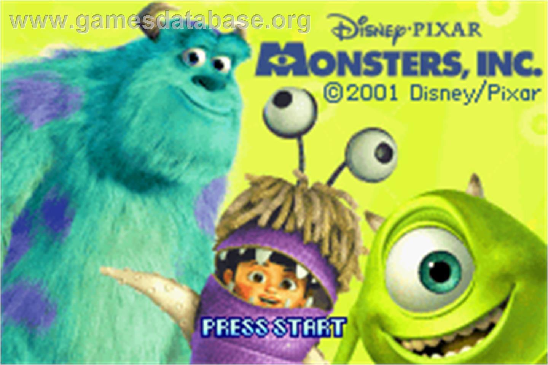 Monster Inc 2 Games