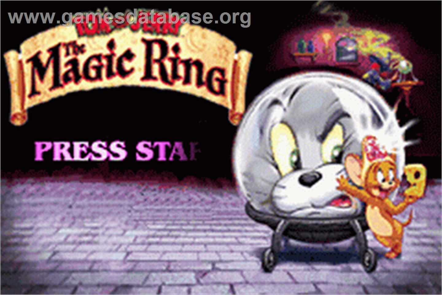 Tom and Jerry Magic Ring