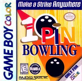 Box cover for 10-Pin Bowling on the Nintendo Game Boy Color.