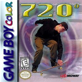 Box cover for 720 Degrees on the Nintendo Game Boy Color.