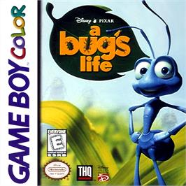 Box cover for A Bug's Life on the Nintendo Game Boy Color.