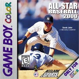 Box cover for All-Star Baseball 2000 on the Nintendo Game Boy Color.
