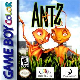 Box cover for Antz on the Nintendo Game Boy Color.