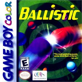 Box cover for Ballistic on the Nintendo Game Boy Color.