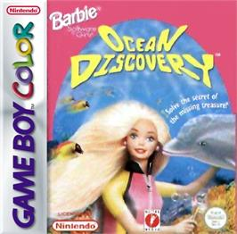 Box cover for Barbie's Ocean Discovery on the Nintendo Game Boy Color.