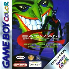 Box cover for Batman Beyond: Return of the Joker on the Nintendo Game Boy Color.