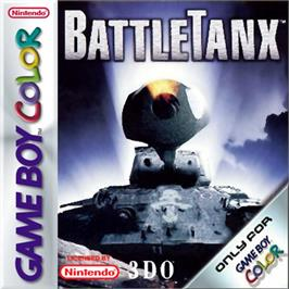 Box cover for BattleTanx on the Nintendo Game Boy Color.