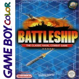 Box cover for Battleship on the Nintendo Game Boy Color.
