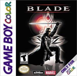 Box cover for Blade on the Nintendo Game Boy Color.