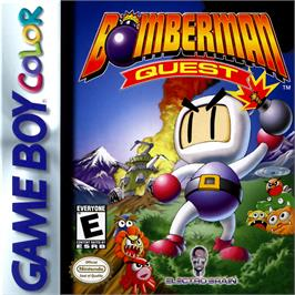 Box cover for Bomberman Quest on the Nintendo Game Boy Color.