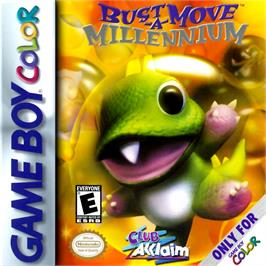 Box cover for Bust a Move Millennium on the Nintendo Game Boy Color.