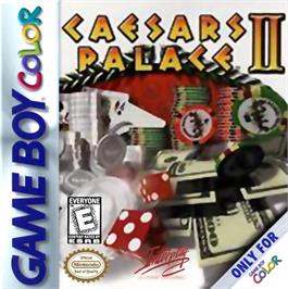 Box cover for Caesars Palace II on the Nintendo Game Boy Color.