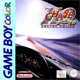 Box cover for Chase H.Q. on the Nintendo Game Boy Color.