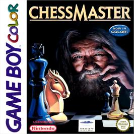 Box cover for Chessmaster on the Nintendo Game Boy Color.