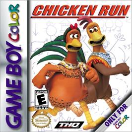 Box cover for Chicken Run on the Nintendo Game Boy Color.