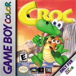 Box cover for Croc: Legend of the Gobbos on the Nintendo Game Boy Color.