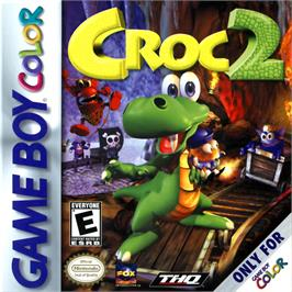 Box cover for Croc 2 on the Nintendo Game Boy Color.