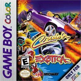 Box cover for Cruis'n Exotica on the Nintendo Game Boy Color.
