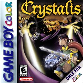 Box cover for Crystalis on the Nintendo Game Boy Color.