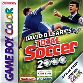 Box cover for David O'Leary's Total Soccer 2000 on the Nintendo Game Boy Color.