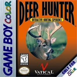 Box cover for Deer Hunter on the Nintendo Game Boy Color.