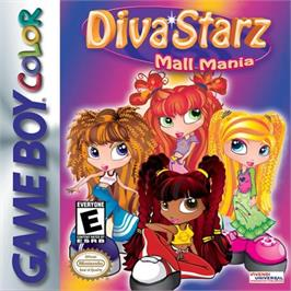 Box cover for Diva Starz: Mall Mania on the Nintendo Game Boy Color.