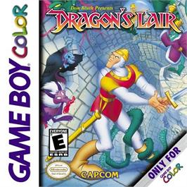Box cover for Dragon's Lair on the Nintendo Game Boy Color.