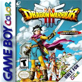 Box cover for Dragon Warrior 3 on the Nintendo Game Boy Color.