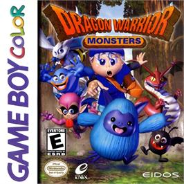 Box cover for Dragon Warrior Monsters on the Nintendo Game Boy Color.