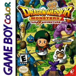 Box cover for Dragon Warrior Monsters 2: Tara's Adventure on the Nintendo Game Boy Color.