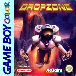 Box cover for Dropzone on the Nintendo Game Boy Color.