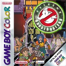 Box cover for Extreme Ghostbusters on the Nintendo Game Boy Color.