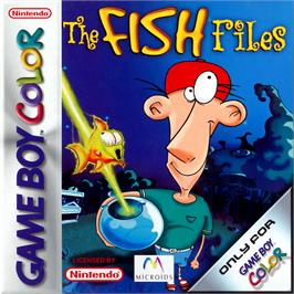 Box cover for Fish Files on the Nintendo Game Boy Color.