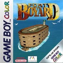Box cover for Fort Boyard on the Nintendo Game Boy Color.